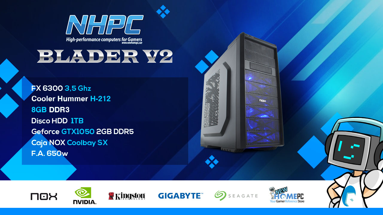 PC Gaming NHPC BLADER V2