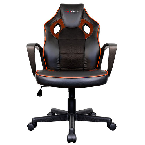 SILLA GAMER MARS GAMING MGC0BBL COLOR NEGRO/NARANJA