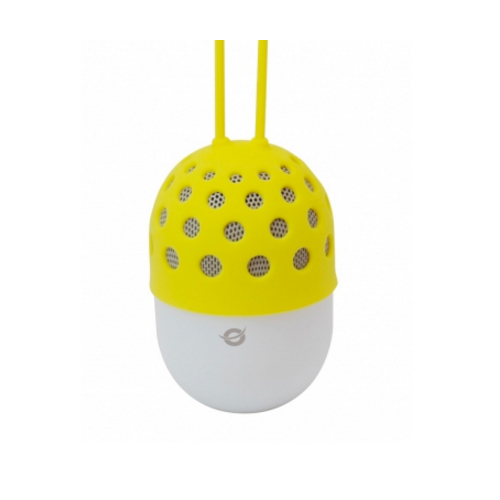 ALTAVOZ BLUETOOTH CONCEPTRONIC CON LUZ LED CSPKBTWPHLY COLOR AMARILLO