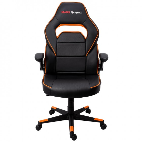 SILLA GAMER  MARS GAMING MGC117BO COLOR NEGRO/ORANGE