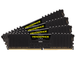 MEMORIA KIT DDR4  32GB(2X16GB) PC4-19200 2400MHZ CORSAIR 1.2V CMK32GX4M2A2400C14