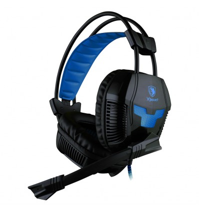 Auriculares xpower PC - PS4 Azules