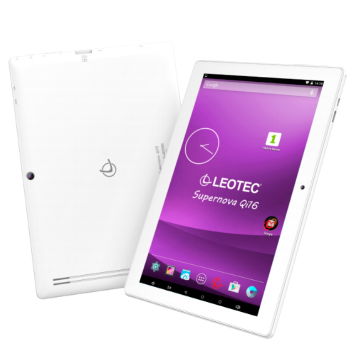 TABLET 10.1' LEOTEC SUPERNOVA Qi16 (IPS 1280x800 16:10) ANDROID 5.1 QUAD CORE 16GB 1GB GPS BLUETOOTH HDMI DUAL CAM