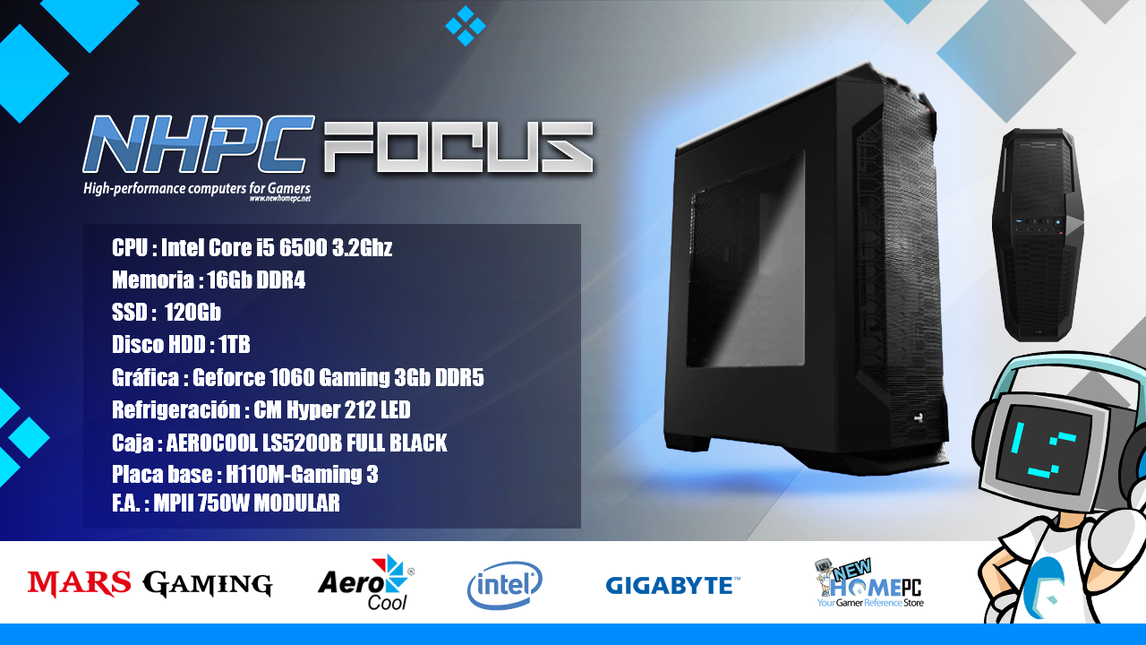 PC Gaming NHPC FOCUS