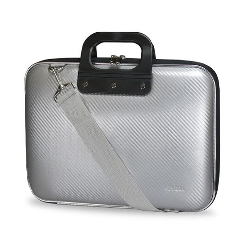 BOLSA PORTATIL  15.6 EVITTA EVA LAPTOP BAG CARBON SILVER EVLB000607