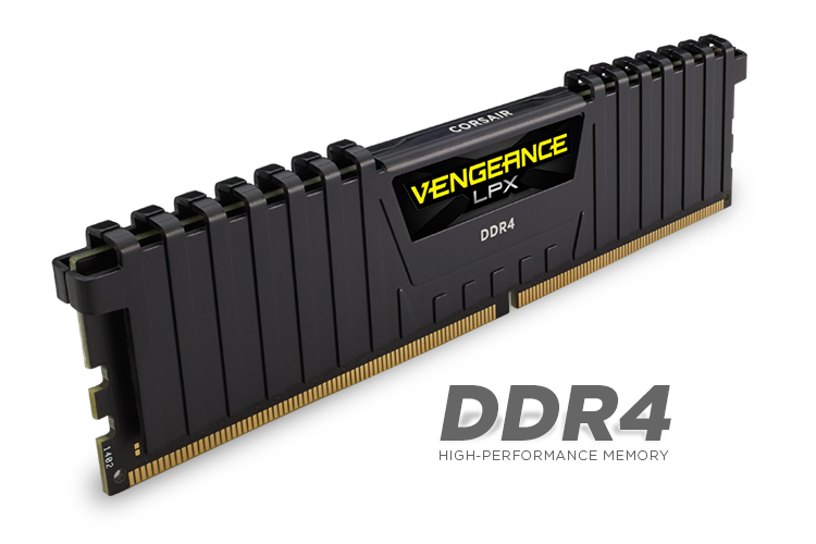 MEMORIA KIT DDR4  16GB(2X8GB) PC4-19200 2400MHZ CORSAIR VENGE CMK16GX4M2A2400C14