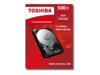 HDD TOSHIBA 2.5 500 GB SATA 5400RPM RETAIL