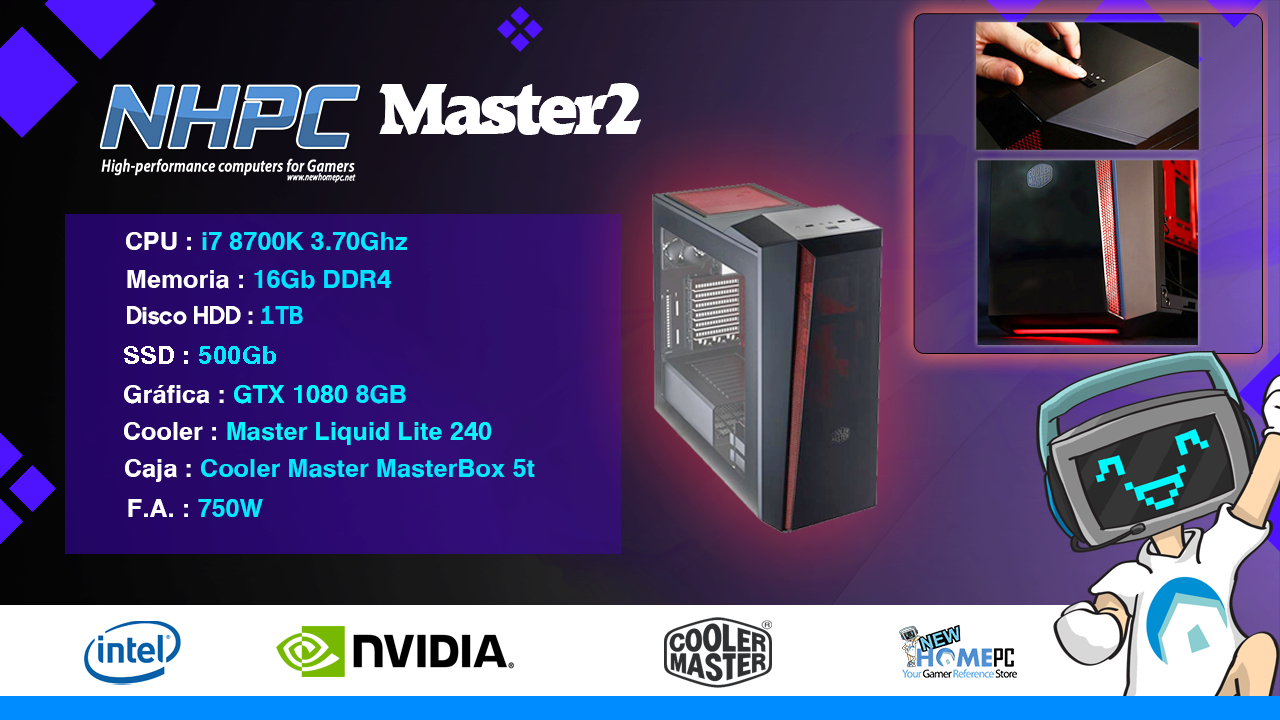 PC Gaming NHPC MASTER 2