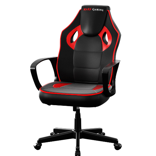 SILLA GAMER MARS GAMING MGC0BBL COLOR NEGRO/ROJO