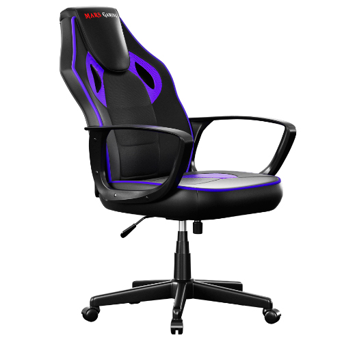 SILLA GAMER MARS GAMING MGC0BBL COLOR NEGRO/FUCSIA