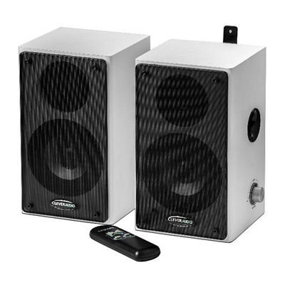 Traulux Altavoces Pared Pizarra Dig.2x20W+mando