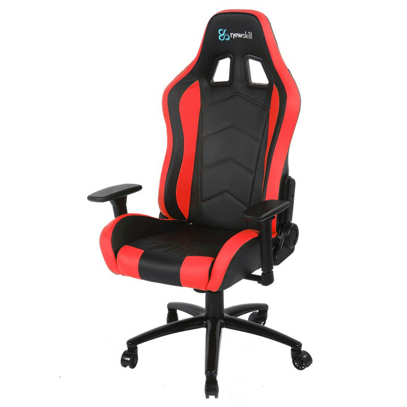 Silla gaming rojo takamikura newskill newhomepc for Silla gaming con altavoces