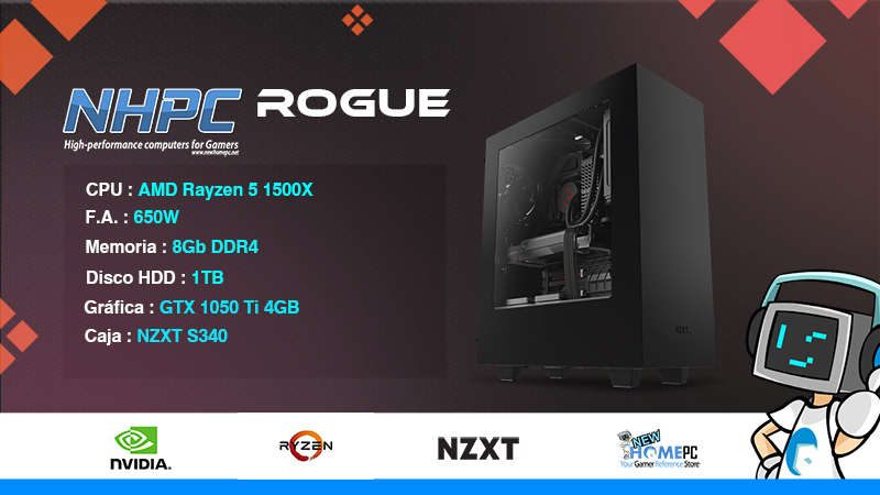 PC Gaming NHPC Rogue V2