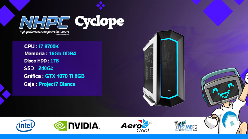 PC Gaming NHPC Cyclope