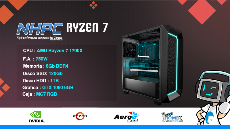 PC Gaming NHPC RYZEN 7