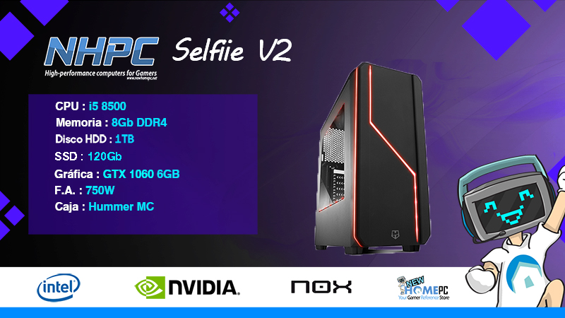 PC Gaming NHPC SELFIIE V2